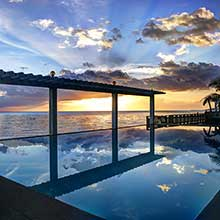 Beach-Side Infinity Pool Image
